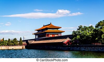 Back door of the Forbidden City - The rear entrance of the...