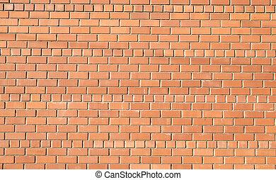 brick wall - red brick wall great as background