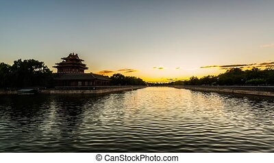 Turret of Forbidden City - The turret of the Forbidden City...