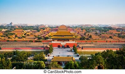 Overlooking Forbidden City - Overlook the Forbidden City...