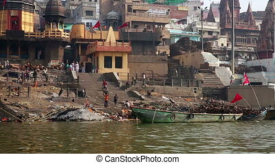 Everyday scene in Varanasi