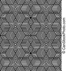 Seamless geometric op art texture. - Seamless geometric...