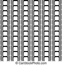 Design seamless black and white vertical geometric pattern....