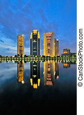 Reflection - this photo taken at Putrajaya, Malaysia during...