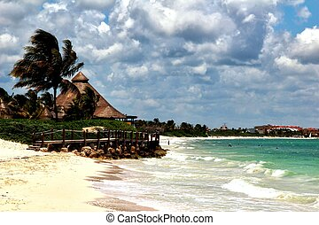 Belize Beach - Belize known for it's stunning beaches.
