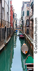 canals of Vinecia, Italy