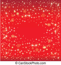 Christmas red background - Christmas red background with...