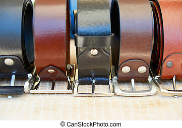 ?olorful trouser belts