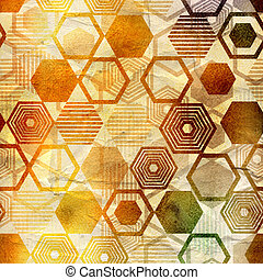 geometric ornament - unusual bright colorful geometric...
