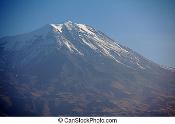 Peak of Mt Ararat, Turkey