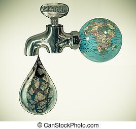 Save Water, Concept