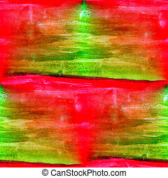 green red seamless macro texture watercolors with brush...