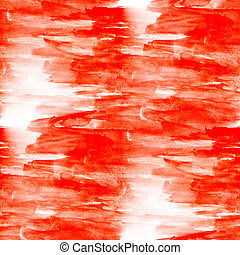 red seamless macro texture watercolors with brush strokes