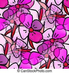 flowers purple background seamless texture