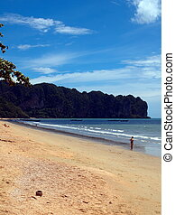 Ao Nang - Paradise beach at Ao Nang, Krabi, Thailand