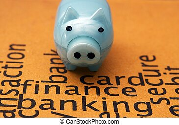Finance banking concept