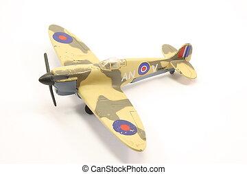British Fighter Plane - Toy British fighter plane World War...