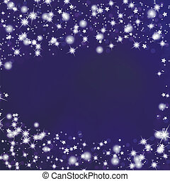 Night Sky Background with Stars