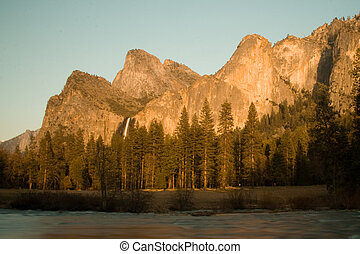 Bridalveil Fall is one of the most beautiful of...