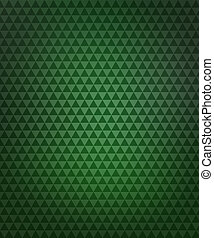 Green Triangles Pattern Background
