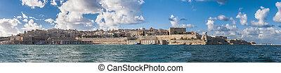 Valletta south waterfront in Malta - Valletta south...