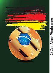Germany in Soccer WM Brazil 2014