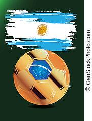 Argentina in Soccer WM Brazil 2014