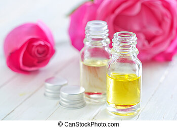 aroma oil in bottle