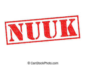 NUUK Rubber Stamp - NUUK capital of Greenland Rubber Stamp...
