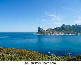 hout bay view from chapman's peak, south africa