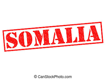 SOMALIA Rubber Stamp over a white background