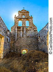 Church to the Sun - Ruins of El Salvador abandoned church...