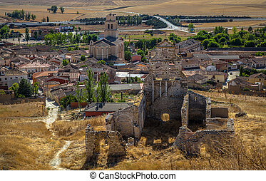 Mota del Marques - Spanish town Mota del Marques with its...