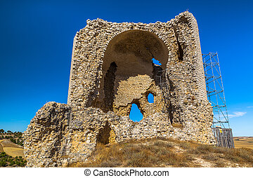 Mota del Marques Castle - Mota del Marques castle in ruins...