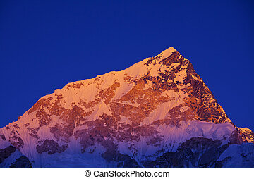 Himalaya - mountains in Sagarmatha region,Himalaya