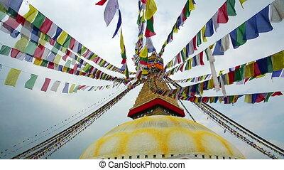 Symbol of Nepal, Buddhas Eyes in Kathmandu