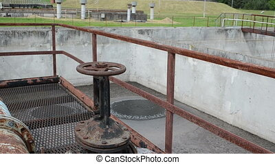 rusty tap water treatment - Rusty big tap valve gate and...