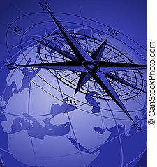 compas, Globe