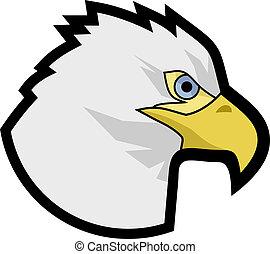 Eagle head - Creative design of eagle head