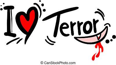 terror, Amor