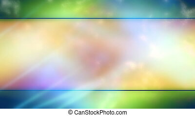 Multicolor Soft Abstract Looping Animated Background