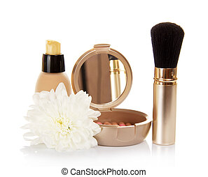 Basis for cosmetics and chrysanthemum flower