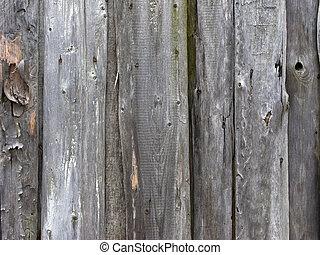 Weathered dark wooden background