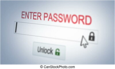 Enter password - Logging in with security code