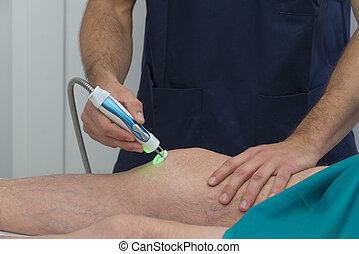 Physiotherapy and rehabilitation - Laser therapy from a...