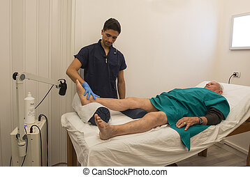 Physiotherapy and rehabilitation - Phisyotherapy: care of a...
