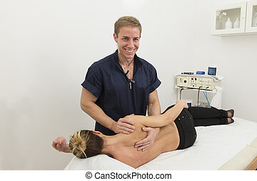 Physiotherapy and rehabilitation - Physiotherapy: Massage...