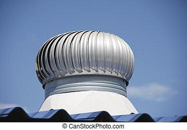 exhaust fan on roof
