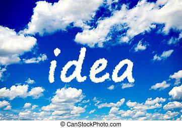 Idea clouds