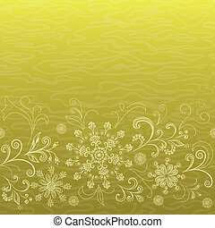 Seamless floral pattern - Abstract floral seamless pattern,...